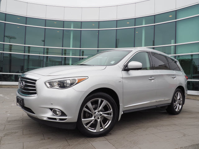 Certified Pre-Owned 2015 INFINITI QX60 DELUXE TOURING w/TECHNOLOGY PACKAGE