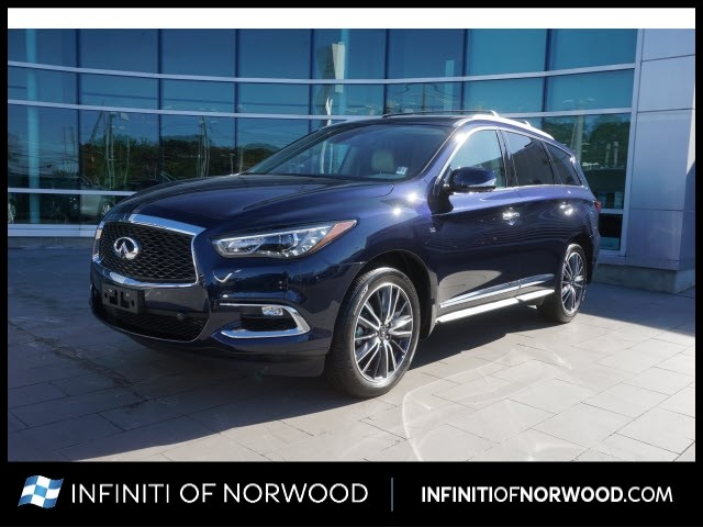 Certified Pre-Owned 2019 INFINITI QX60 Luxe w/ESSENTIAL w/SENSORY w/ProACT