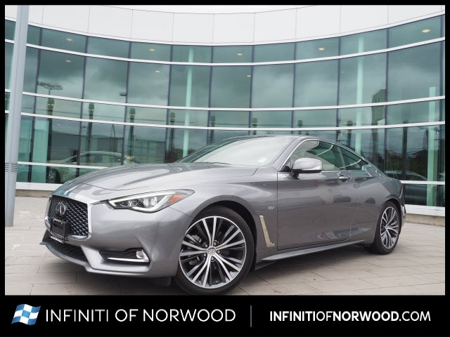Certified Pre-Owned 2019 INFINITI Q60 3.0T Luxe w/ESSENTIAL PACKAGE