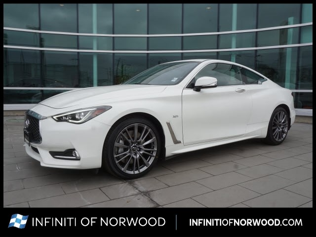 Certified Pre-Owned 2017 INFINITI Q60 3.0T Sport
