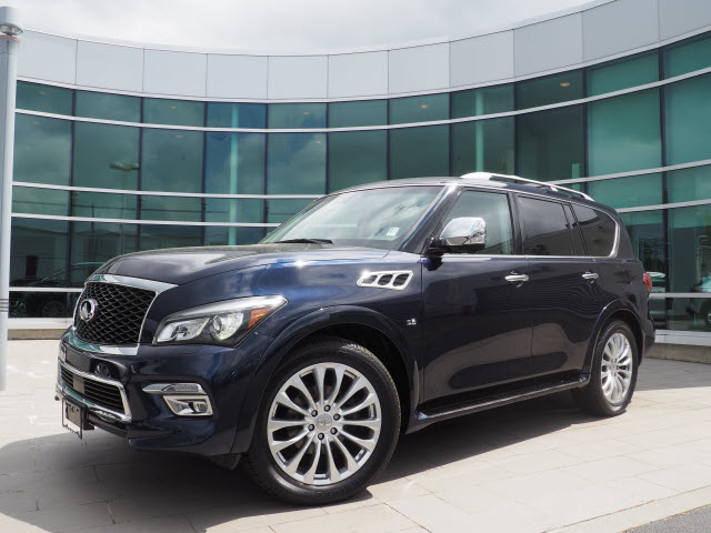 Certified Pre-Owned 2015 INFINITI QX80 Deluxe Touring w/Technology & Theat