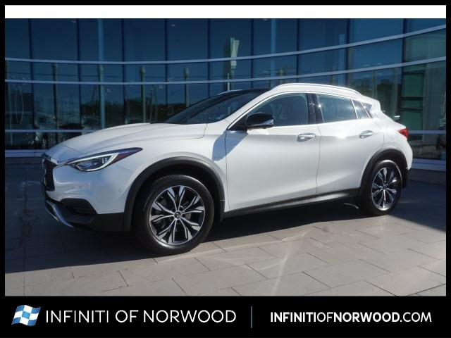 Certified Pre-Owned 2019 INFINITI QX30 Luxe w/Navigation Package