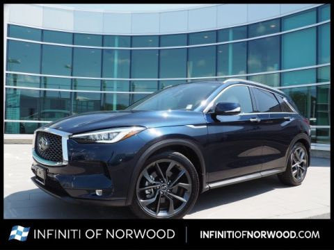 Certified Pre-Owned 2019 INFINITI QX50 Essential w/Sensory w/Autograph Pac