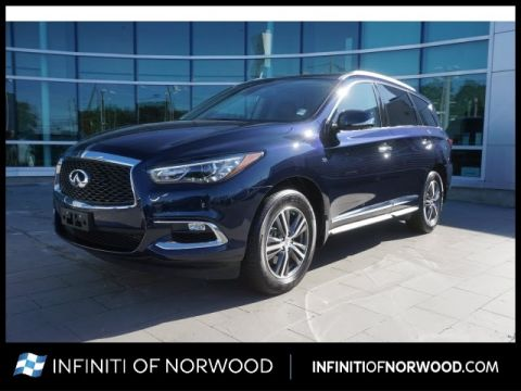 Certified Pre-Owned 2019 INFINITI QX60 Luxe w/ESSENTIAL PACKAGE