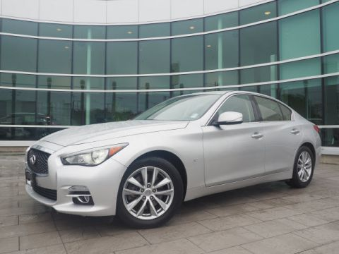 Certified Pre-Owned 2015 INFINITI Q50 Premium w/Naviagtion Package
