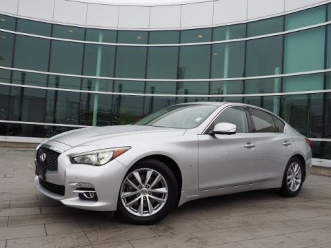 Certified Pre-Owned 2015 INFINITI Q50 Premium w/Deluxe Touring Package