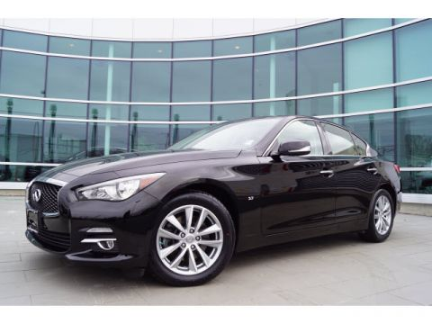 Certified Pre-Owned 2015 INFINITI Q50 AWD w/MOONROOF PACKAGE