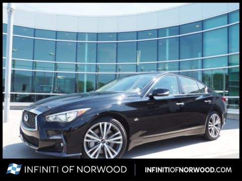 Certified Pre-Owned 2019 INFINITI Q50 3.0T Sport