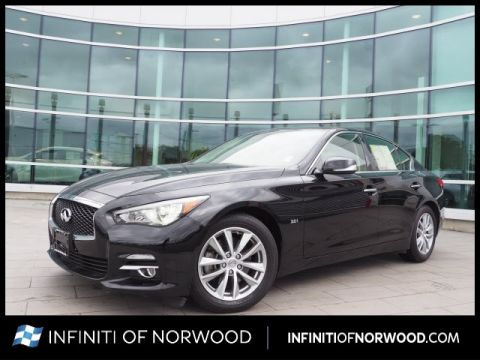 Pre-Owned 2016 INFINITI Q50 3.0T Premium w/Premium Plus Package