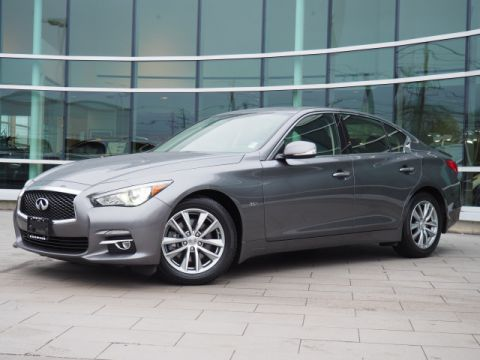 Certified Pre-Owned 2016 INFINITI Q50 3.0T Premium w/Premium Plus Package