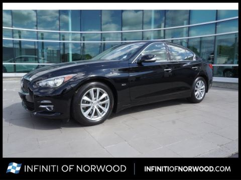 Certified Pre-Owned 2016 INFINITI Q50 3.0T Premium Plus w/Driver Assistan