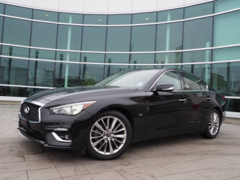 Certified Pre-Owned 2018 INFINITI Q50 3.0T Luxe w/Navigation Package