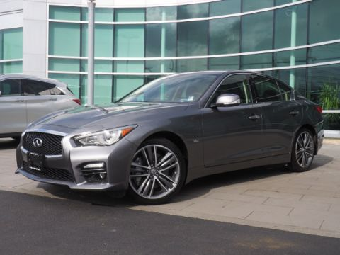 Certified Pre-Owned 2016 INFINITI Q50 Sport w/Premium Plus Package