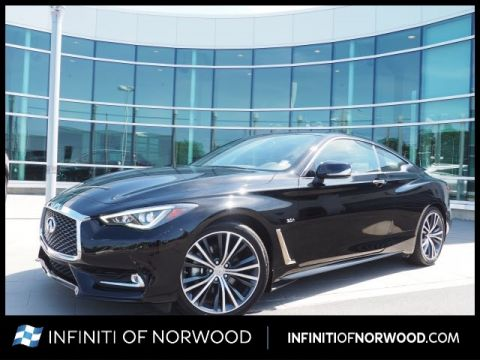 Pre-Owned 2018 INFINITI Q60 3.0T Luxe w/Sensory Package