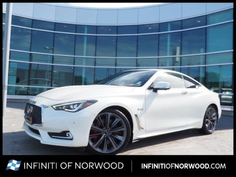 Certified Pre-Owned 2018 INFINITI Q60 Red Sport 400 w/SENSORY w/ProASSIST