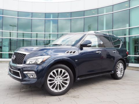 Certified Pre-Owned 2016 INFINITI QX80 Driver Assistance w/Theater w/22s